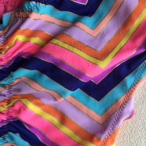 Victoria's Secret Swim - Victoria's Secret colorful bikini bottom sz L